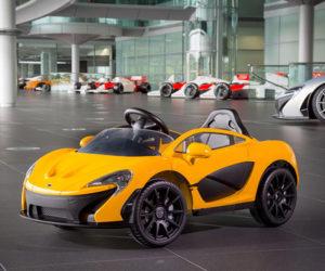McLaren's Latest P1 EV Hypercar Hits 3MPH