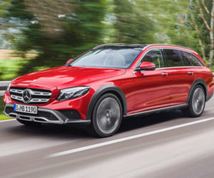 Mercedes E-class All Terrain is an AWD Wagon for the Luxury Set