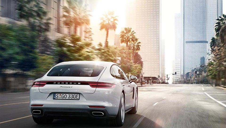 Porsche Panamera 4 E-Hybrid Packs Green-ish Punch