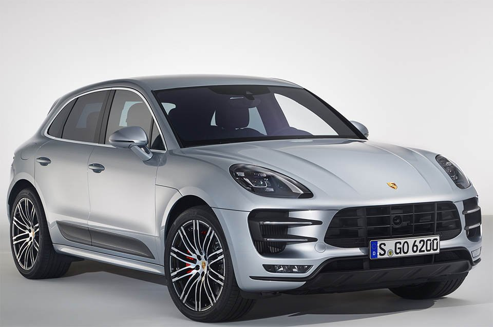Porsche Macan Turbo with Performance Package Packs 440hp