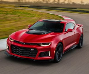 2017 Camaro ZL1 Smokes the Nürburgring