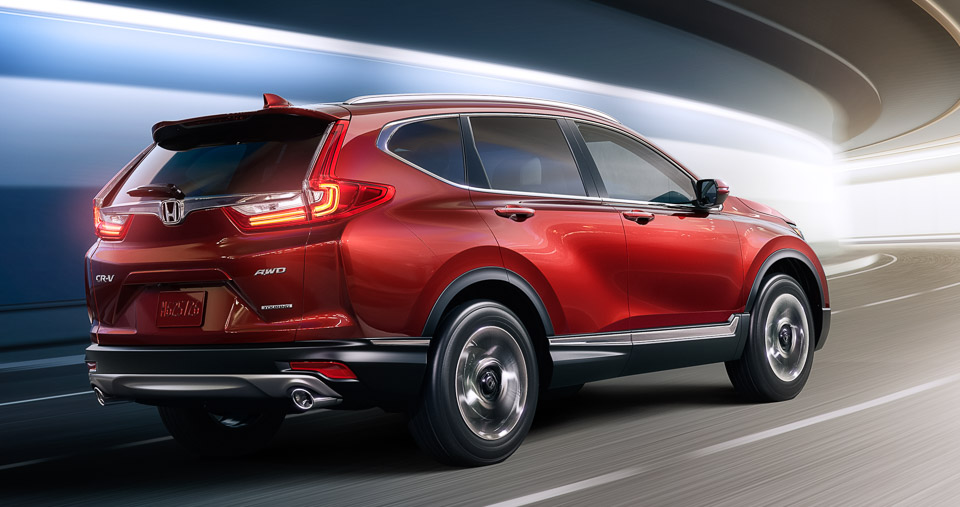 2017 Honda CR-V Gets Engine Bump, Design Refinements - 95 Octane