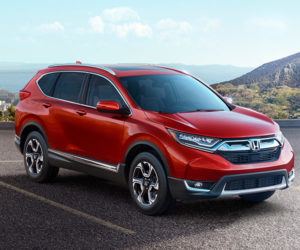 2017 Honda CR-V Gets Engine Bump, Design Refinements