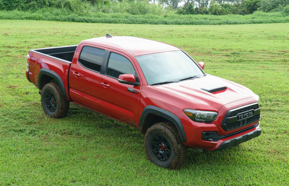 Off Road In Hawaii With The 2017 Toyota Tacoma Trd Pro