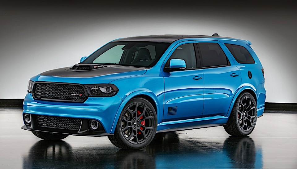 Dodge Durango Shaker Concept Shakes Things up