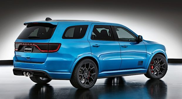 "Mopar ""shook up"" the Dodge Charger of the SUV segment for SEMA, creating the Dodge Durango Shaker concept."