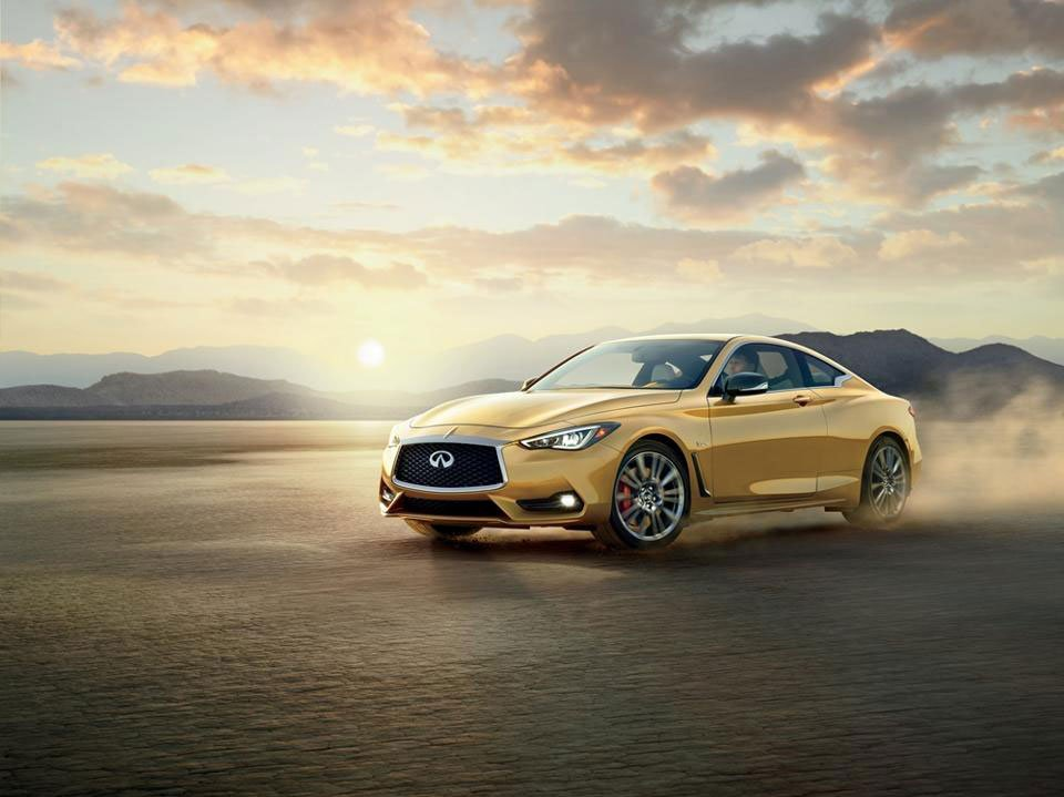 Neiman Marcus Limited Edition Infiniti Q60 Goes for the Gold