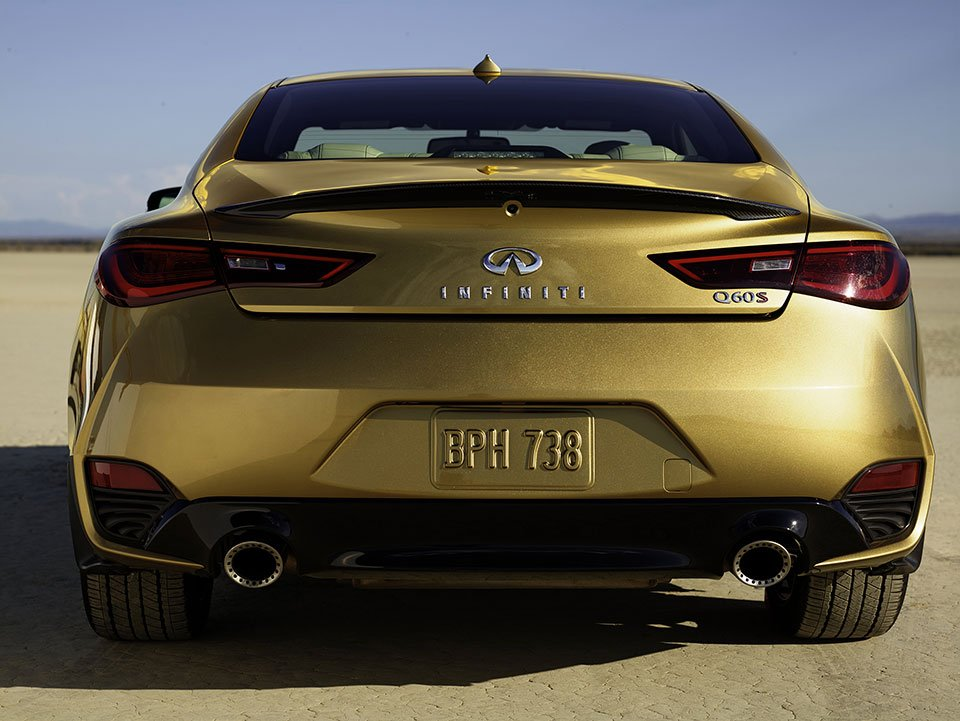 neiman marcus limited edition infiniti q60 goes for the gold 95 octane. Black Bedroom Furniture Sets. Home Design Ideas