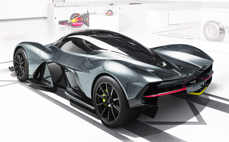 AM-RB 001 Makes 4,000 Pounds of Downforce with No Wing