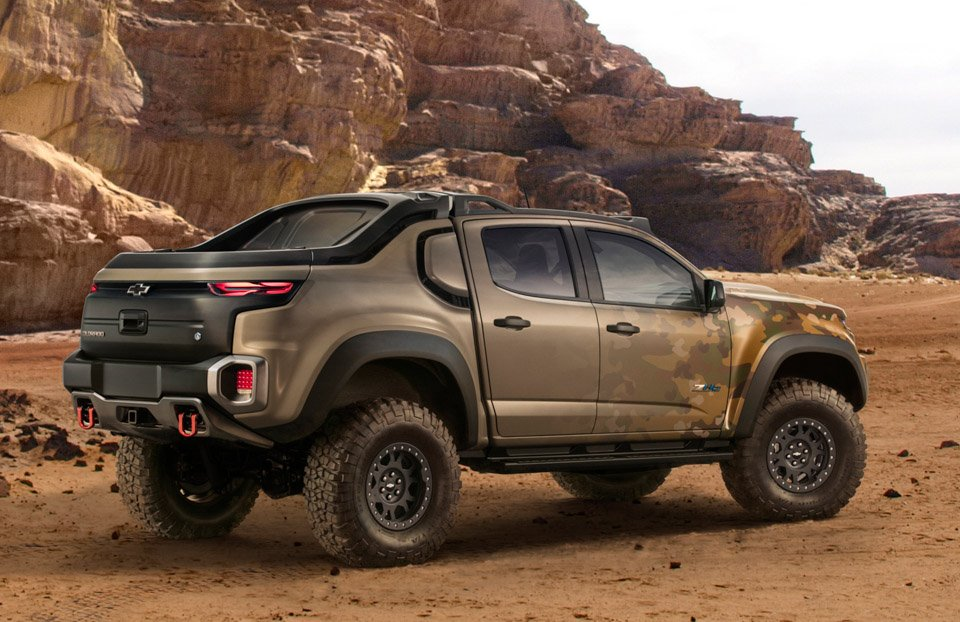 Chevrolet Colorado Zh2 Is The Fuel Cell Army Truck Of Our