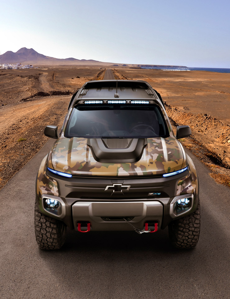 Chevrolet Colorado ZH2 Is the Fuel-cell Army Truck of our Dreams - 95 ...