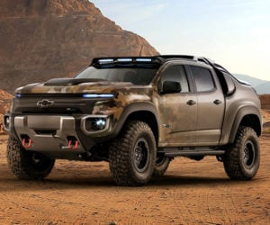 Chevrolet Colorado ZH2 Is the Fuel-cell Army Truck of our Dreams