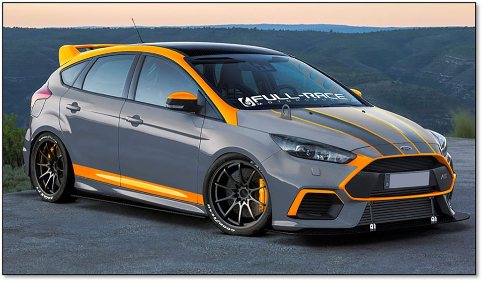 Ford Shows off SEMA 2016 Hot Hatches