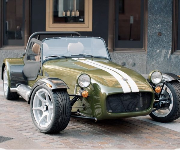 Harrods Caterham Seven Shows off Complete Customization