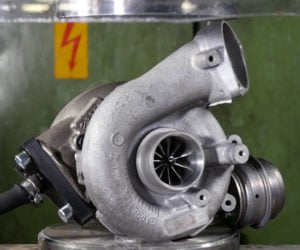 Turbocharger vs. Hydraulic Press