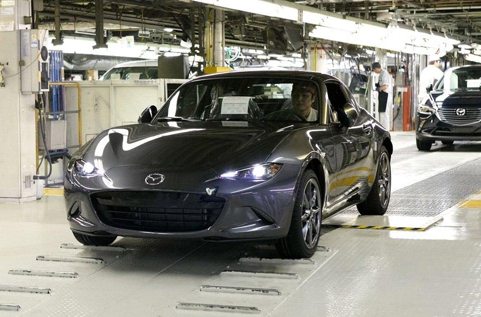 2017 Mazda MX-5 RF Club Sport Priced, Production Starts