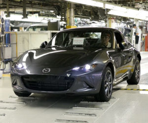 2017 Mazda MX-5 RF Club Sport Priced, Production Starts