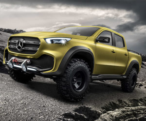 Mercedes-Benz X-Class Pickup Concept Revealed, But Not for U.S.