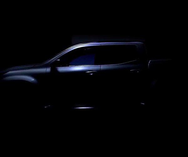 Mercedes-Benz Teases Pickup Concept