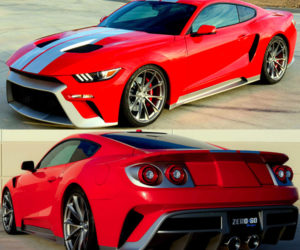 Zero to 60 GTT Mustang Channels Ford GT in all the Right Places
