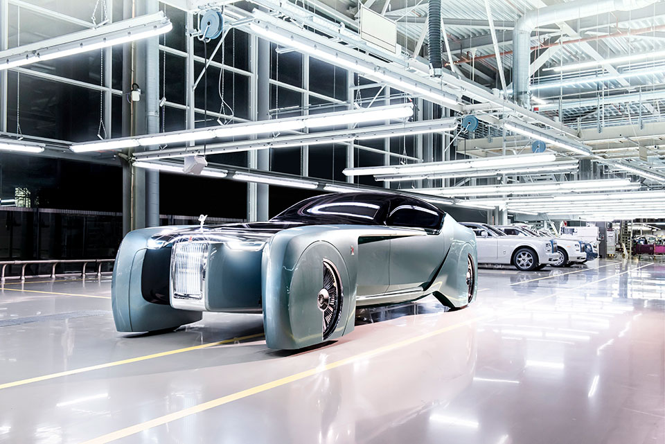 Rolls-Royce VISION NEXT 100 Prophesizes Über-luxury Future