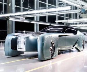 Rolls-Royce VISION NEXT 100 Prophesizes Über-luxury Future