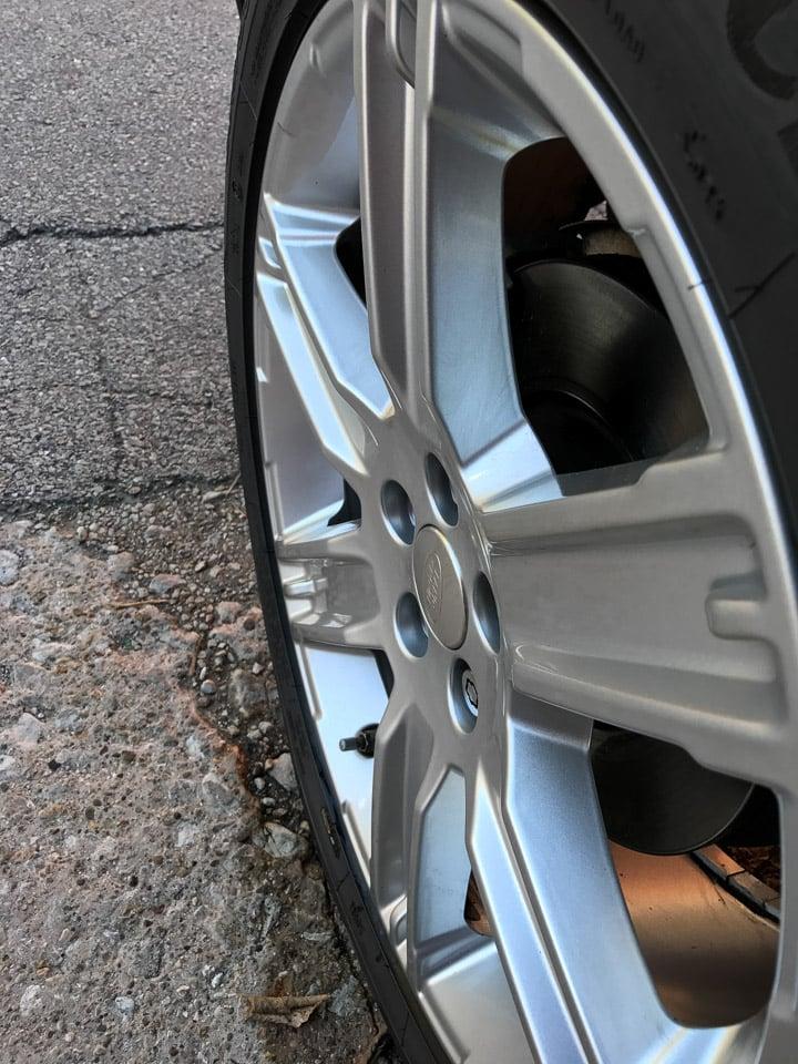 Spray Nine Gets Car Wheels Crazy Clean