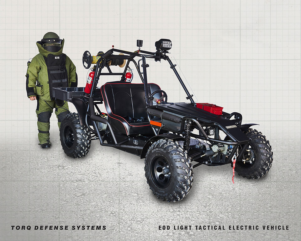 TORQ LTEV Rapid Response EV for Bomb Disposal Teams