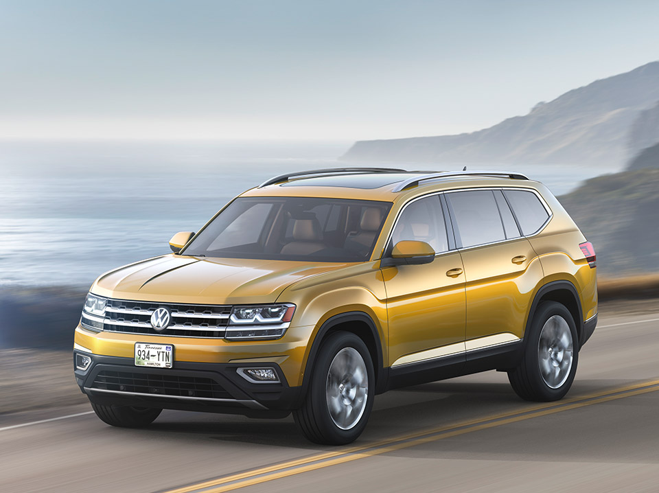 2018 Volkswagen Atlas is a 7-Seater SUV Built in America
