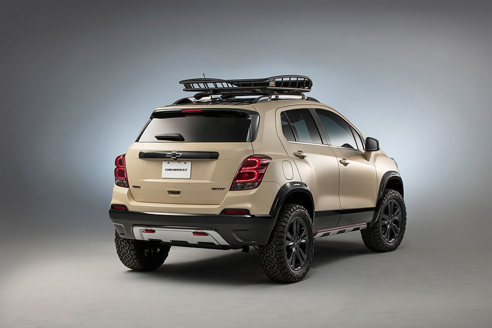 Chevy Trax Activ Concept Looks Ready For Off Road Adventure