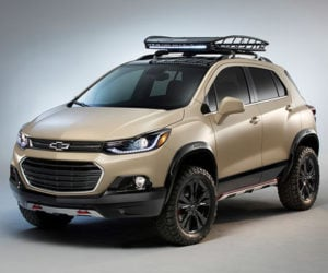 Chevy Trax Activ Concept Looks Ready for Off-road Adventure