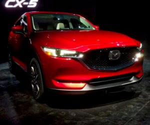 2017 Mazda CX-5 Debuts; Diesel Engine Available