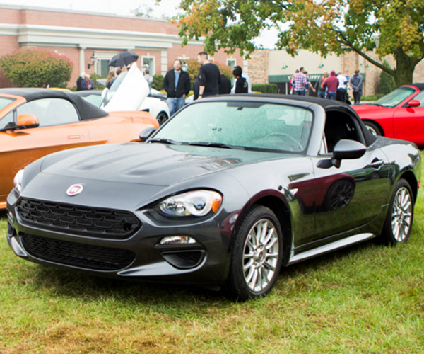 2017 fiat 124 spider lusso review 95 octane. Black Bedroom Furniture Sets. Home Design Ideas