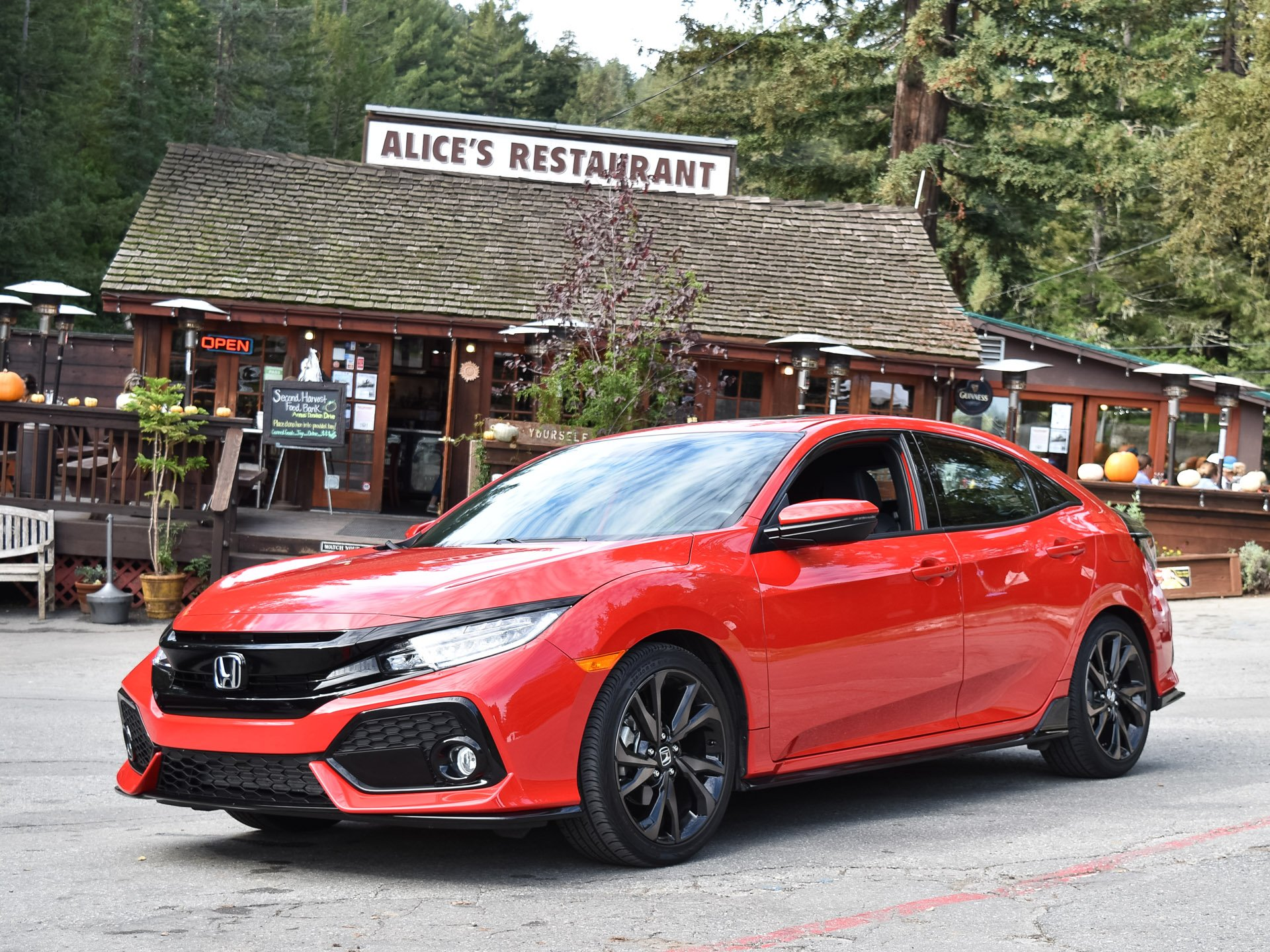 First Drive Review 2017 Honda Civic Hatchback 95 Octane