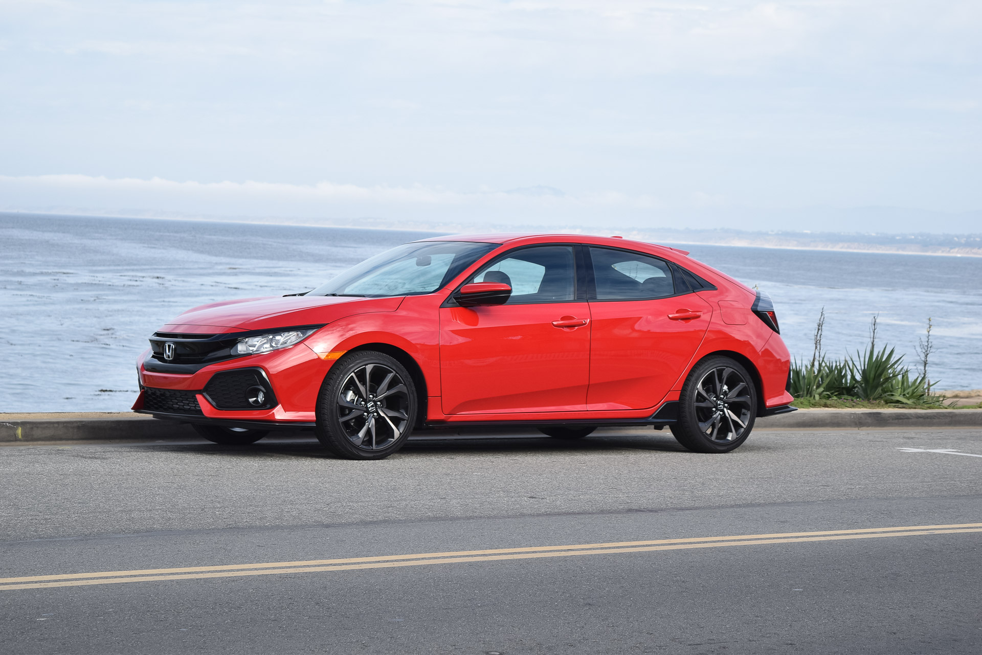 First Drive Review 2017 Honda Civic Hatchback