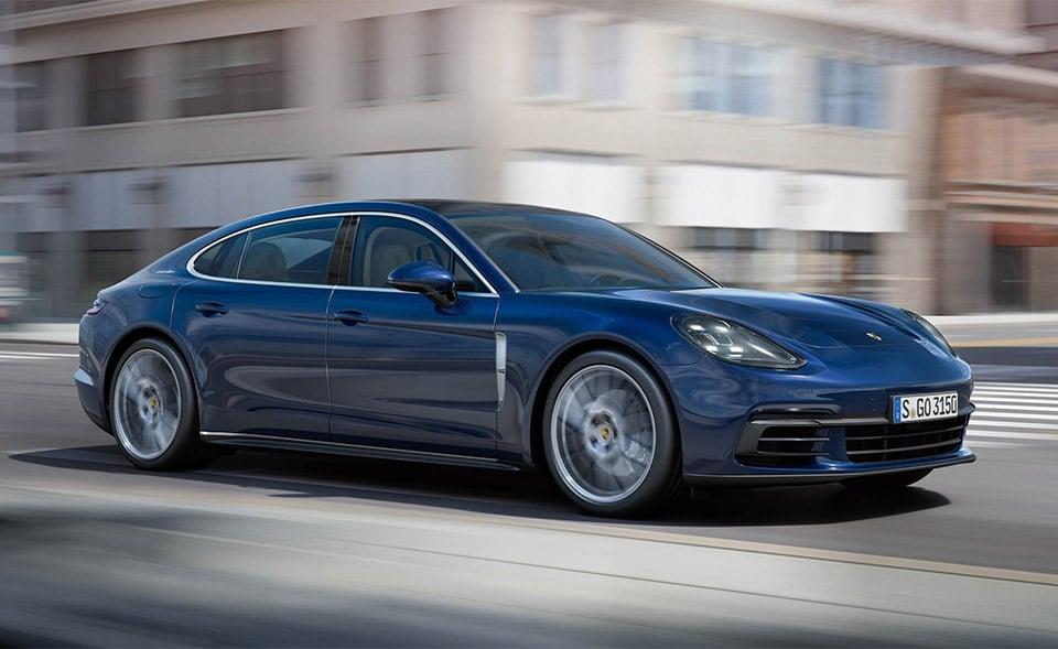 New Porsche Panamera and Panamera Executive Head to LA