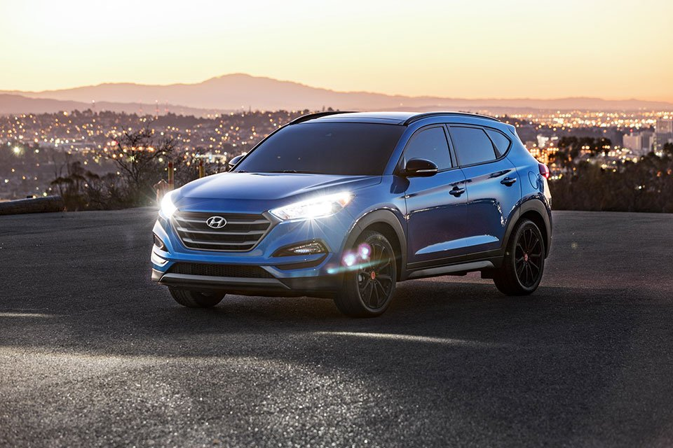 Hyundai Tucson Night Model Makes SEMA Debut