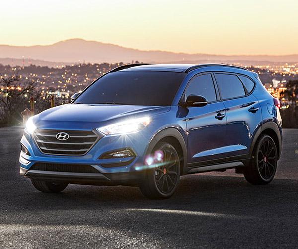 Hyundai Tucson Night Model Makes SEMA Debut