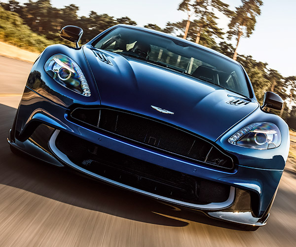 Aston Martin Vanquish S V12 Is a Brit Brute