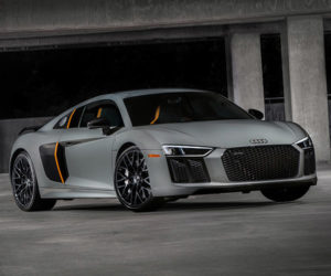 2017 Audi R8 Exclusive Edition Gets Laser Headlights