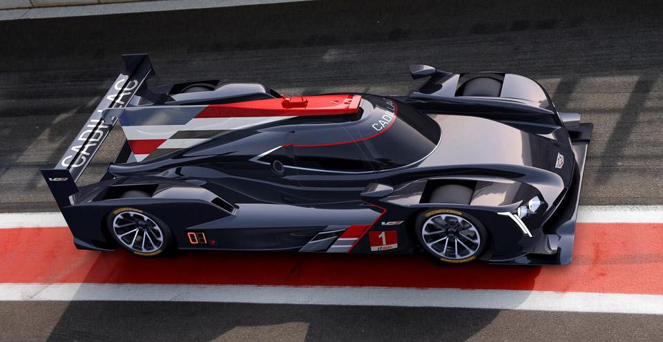 Cadillac DPi-V.R Prototype Racer Looks Phenomenal