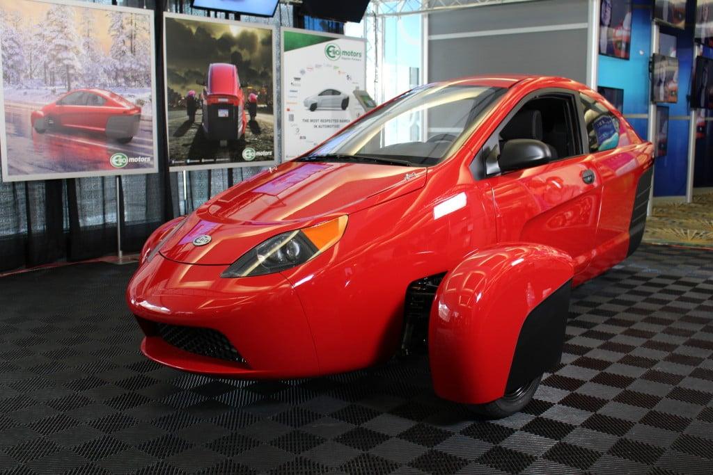 Elio Motors E1c Engineer Vehicle Debuts In La 95 Octane