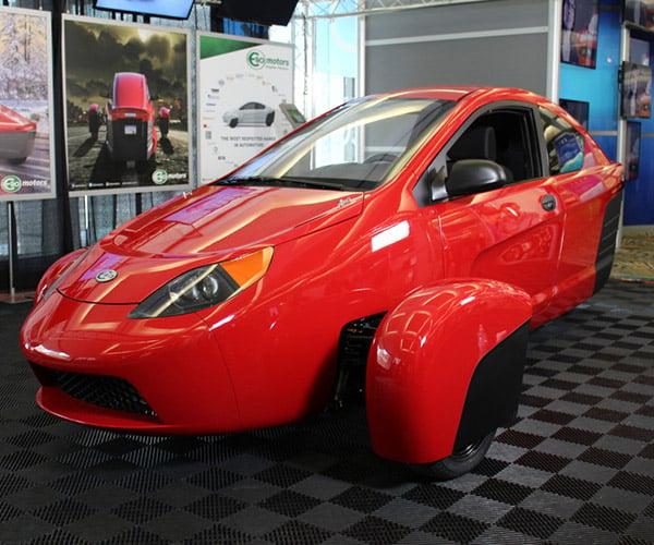 Elio Motors E1c Engineer Vehicle Debuts in LA