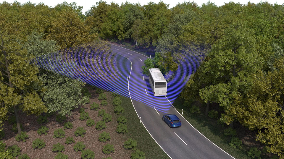 Ford Tech Aims to Stop Collisions and Wrong Way Drivers