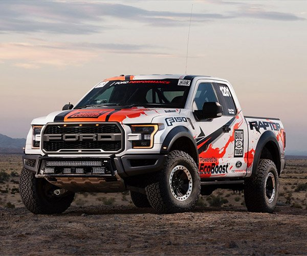 2017 Ford Raptor Takes 3rd in Baja 1000, Then Drives Home After Race
