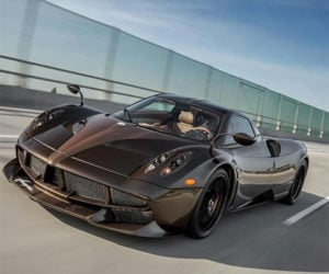 Pagani Huayra Hermes Edition is Brown and Beautiful