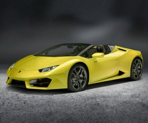 Lamborghini Huracan RWD Spyder Ready for Open-air Powerslides