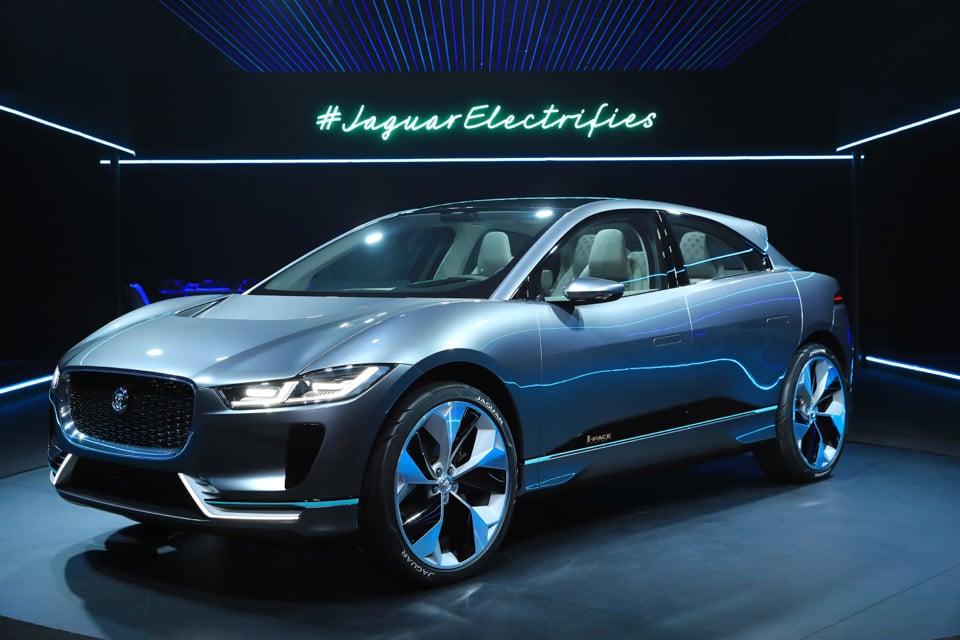 Jaguar I-PACE Crossover EV Takes Aim at Tesla Model X
