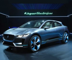 Jaguar I-PACE Crossover EV Takes Aim at Tesla Model X