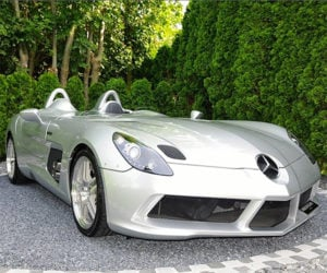 Mercedes SLR McLaren Stirling Moss Selling for $2.9 Million